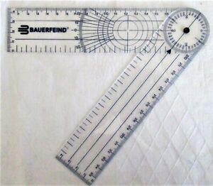 Bauerfeind Gelenk Gradmesser Winkelmesser Goniometer Lineal Multilineal NEU - Königswill, Deutschland - Bauerfeind Gelenk Gradmesser Winkelmesser Goniometer Lineal Multilineal NEU - Königswill, Deutschland
