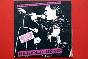 OMLADINA-87-SUBOTICA-LIVE-V-A-KUD-IDIJOTI-MIZAR-GRAD-TUZNE-USI-MEGA-RARE-EXYU-LP