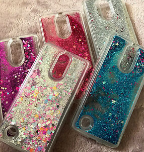 finest selection b8217 59ce8 Details about For LG Aristo / LG Fortune - Floating Liquid Waterfall  Glitter Phone Case Cover