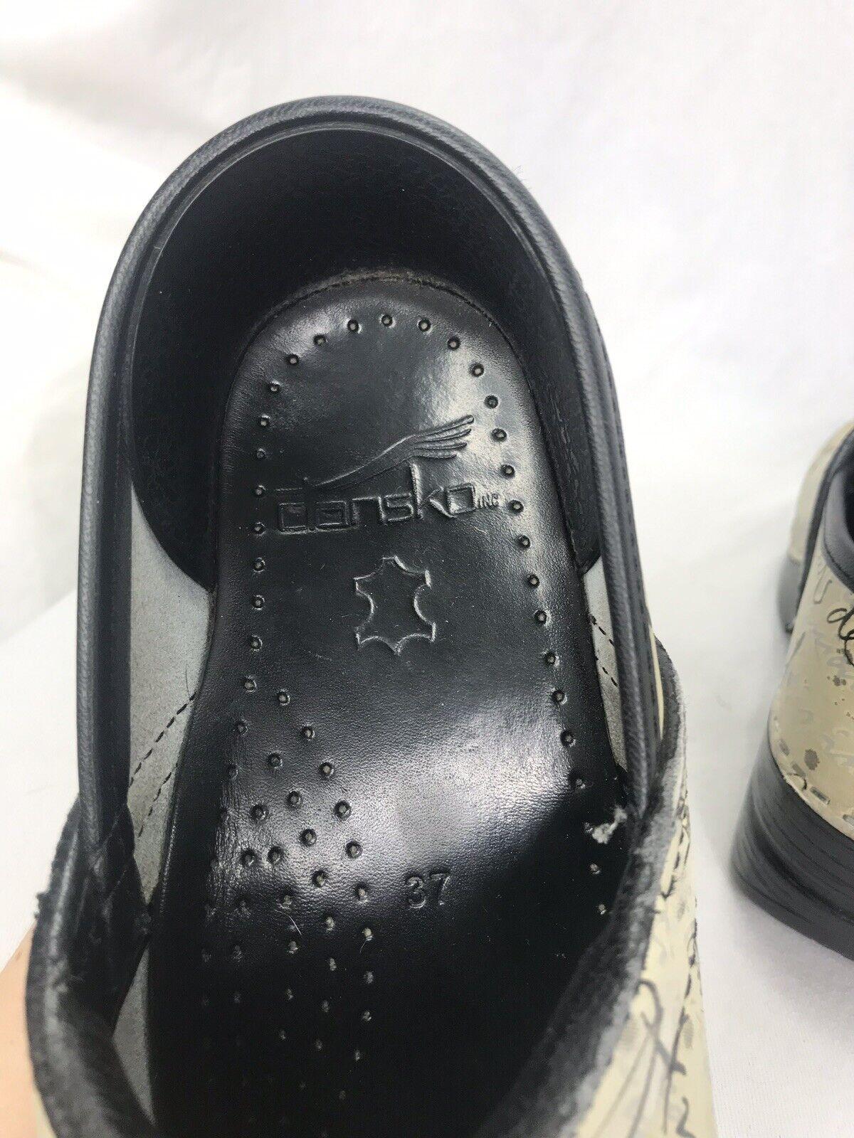 Dansko Script Script Script Writing Professional shoes Size 37 US Size 6.5 ab92f9