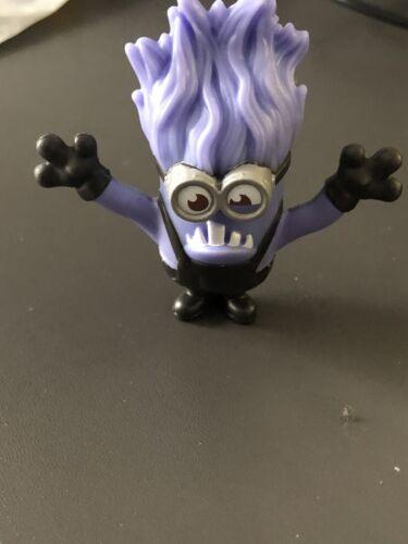 McDonalds Happy Meal Toy UK 2020 Minions Rise Of Gru Figures Evil Purple Minion