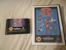 Adventures of Rocky and Bullwinkle and Friends  (Genesis, 1994) WITH CUSTOM CASE