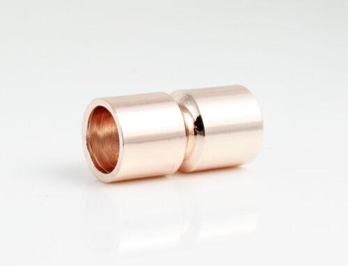 Cierre magnético-Rose Golden-Ø 8 mm-pulsera fabricación
