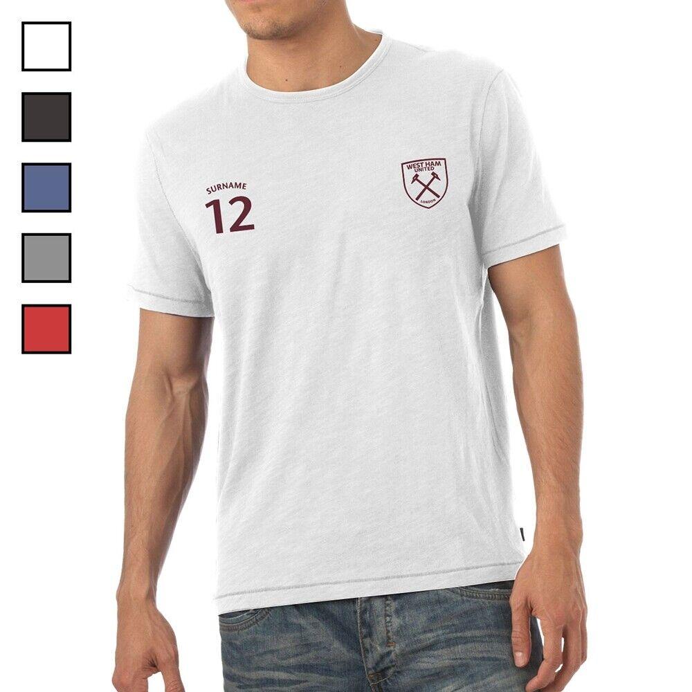 West Ham United F.C - Personalised Mens T-Shirt (SPORTS)