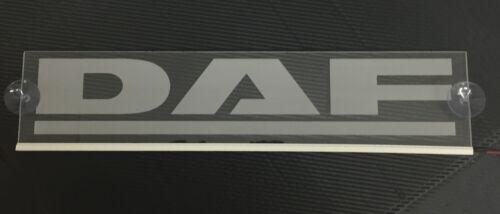 24V Blue LED Cabin Interior Light Plate for DAF Truck Neon Laser Engraved Sign