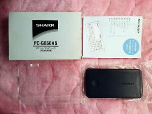 SHARP Pocket Computer PC-G850VS Made in Japan Used