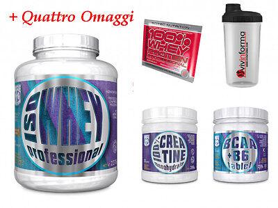 Bene 100% Whey Iso Muscle Center 2,2kg Siero Proteine Latte Zero Glutine E Aspartame Così Efficacemente Come Una Fata