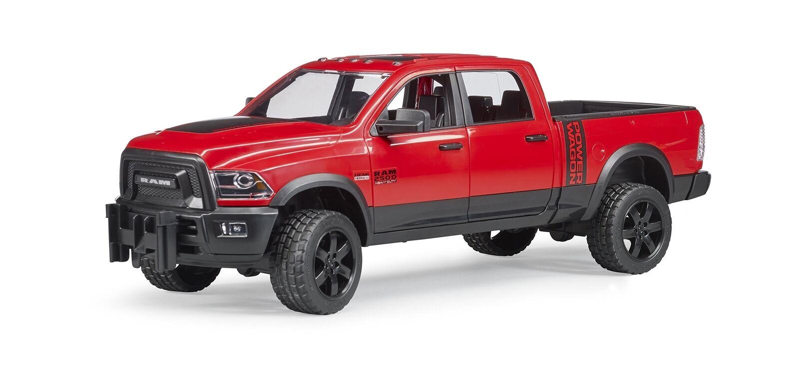 descuento online Bruder Ram 2500 Potencia Camión de recogida sólo vehículo 02500-RAM 02500-RAM 02500-RAM Camión  muchas concesiones