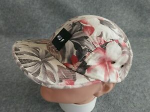 HUF-Men-039-s-Multicolor-Floral-5-Panel-Made-in-USA-Strapback-Cap-Hat-One-Size