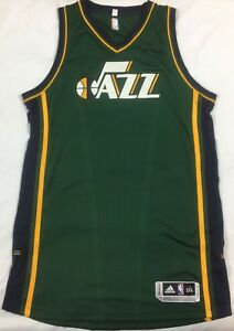 big sale cba5e 350a4 Authentic Adidas Climacool Rev 30 Utah Jazz NBA Jersey Men's ...