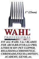 Wahl 1 (25mm) Attachment Guide 5 In 1 Blade Comb -li+ Pro,motion,figura Clipper