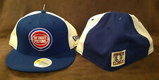 Detroit Pistons NEW ERA 59FIFTY Fitted Hat NBA Hardwood Classics Throwback 7 1/2