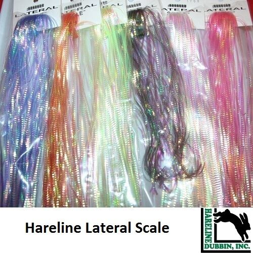 FLY TYING MATERIAL HARELINE Hedron LATERAL SCALE 2020 Stocks * LSC