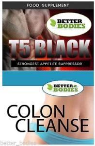 T5-Nero-Semi-di-Soia-purificare-il-Colon-Detox-forte-forza-estrema-dieta-perdita-di-peso