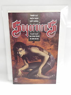 Sugarvirus Comic Book Warren Ellis John Bolton Vampire Horror Poster
