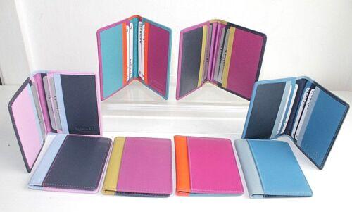 Leather Credit Card Holder Various colours by Golunski