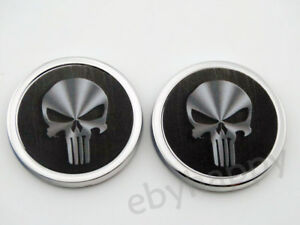 Skull-Metal-3D-Punisher-Car-Emblem-Decal-Motorcycle-Truck-Auto-3M-Badge-Stickers