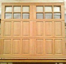 8x7 Wood Carriage House Overhead Garage Door, AmanaDoors Model 105W12