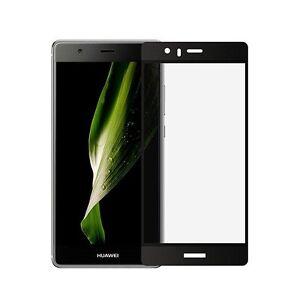 Companero-De-Ascender-Huawei-9-Lamina-de-vidrio-templado-Negro-resistente-a-la
