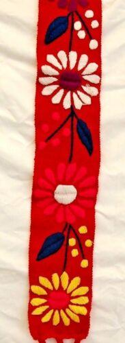 5 de Mayo Multi-Color Wide Belts Sash Wrap Hippie Fiesta Mayan Chiapas Mexico