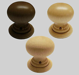 Charmant Image Is Loading 55mm Set Of Cottage Wooden Mortice Door Knob