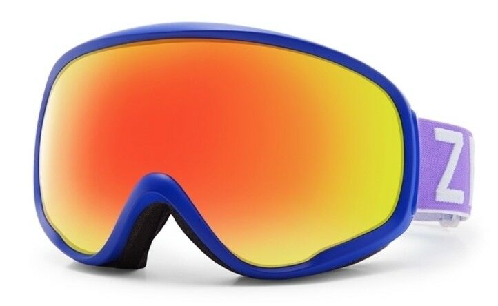 NEW Zeal Forecast bluee Red Mirror Polarized Mens Ski Snowboard Goggles Ret