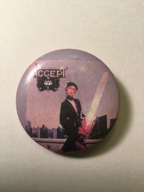 First pin ever.   Concert, One
