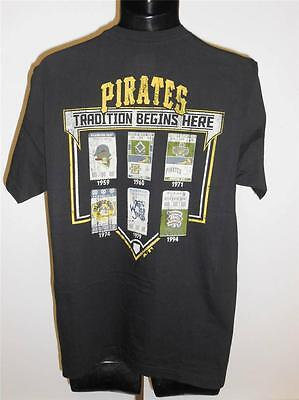 """L Majestätisch """" Tradition Begins Here """" Hemd Elegant Im Stil Weitere Ballsportarten Fanartikel Neue Mode Neu Pittsburgh Pirates Herren Gr"""