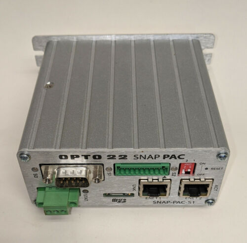 Ethernet//RS-232 Inputs OPTO 22 Programmable Automation Controller SNAP-PAC-S1