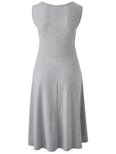 NEW ex Simply Be BLACK Sleeveless Jersey Skater Tunic Dress sizes 12 18 30