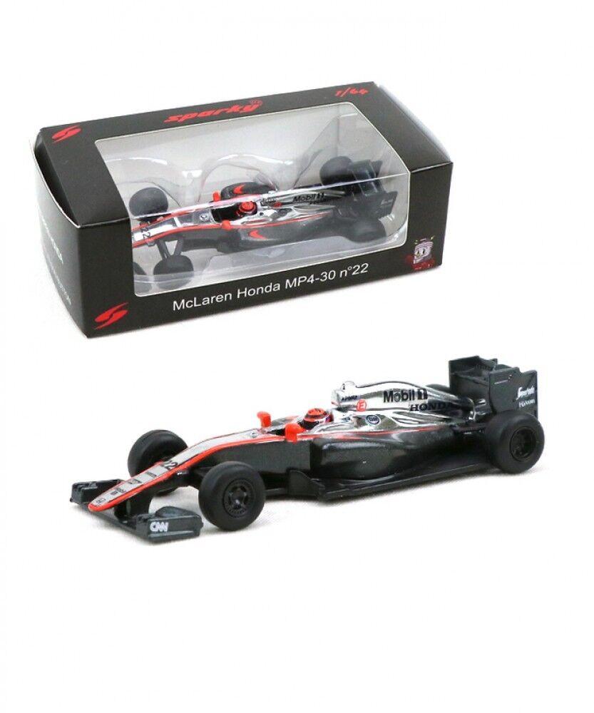 New Spark 1 64 McLaren Honda MP4-30 Jenson Button 2015 F1 from Japan