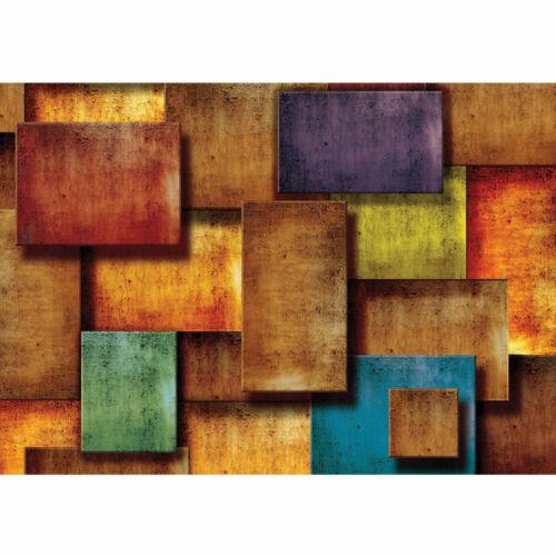 927 Fototapete Abstrakt Rechtecke Steinoptik Muster Design Optik liwwing no