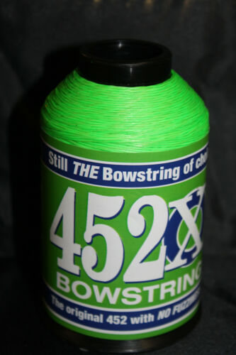 Flo Green BCY 452X Bowstring Material 1//4lb Bow String Making