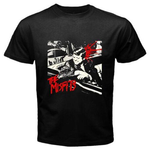 New Rare THE MISFITS Metal Punk Rock Band Legend Men/'s Black T-Shirt Size S-3XL