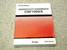 HONDA CBF 1000 , ab 2006 , SC58 , Werkstatthandbuch , Reparaturanleitung !