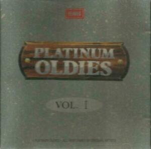 二手 CD冇花 早期日本1A1 PLATINUM OLDIES V1 NAT KING COLE BOBBY VEE MATT MONRO BORN FREE