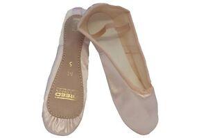 Liberado Rosa De Satén zapatos de ballet