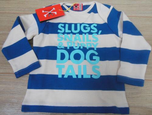 Baby boy longsleeve top t-shirt No added sugar 9-12 m BNWT designer