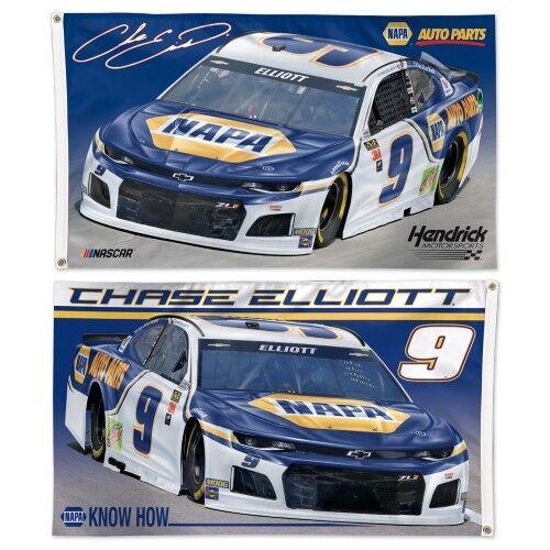 Chase Elliott #9 NASCAR 3 x 5 One Sided Number Flag