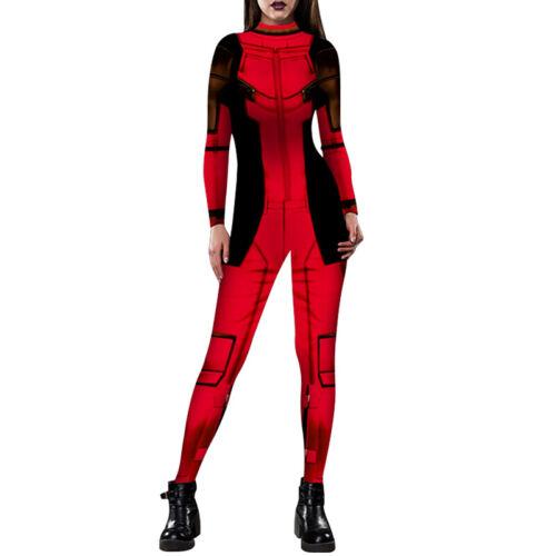 X-MEN Mystica Raven Jean DEADPOOL Cosplay Costume Jumpsuit Faschings Zentai 40