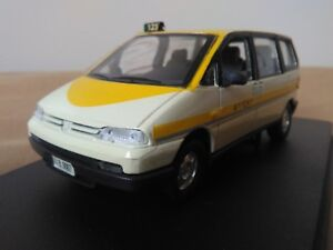 Antigua-miniatura-1-43-Scale-Carr-PR201-Peugeot-806-Taxi-de-Andorra