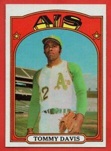 1972-Topps-41-Tommy-Davis-NEAR-MINT-MINT-Oakland-Athletics-FREE-SHIPPING