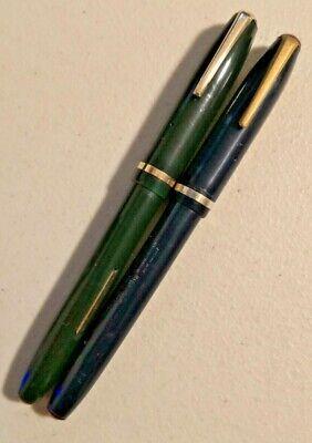 Wearever Black Pioneer Lever Fill Fountain  Pen-medium point--uninked