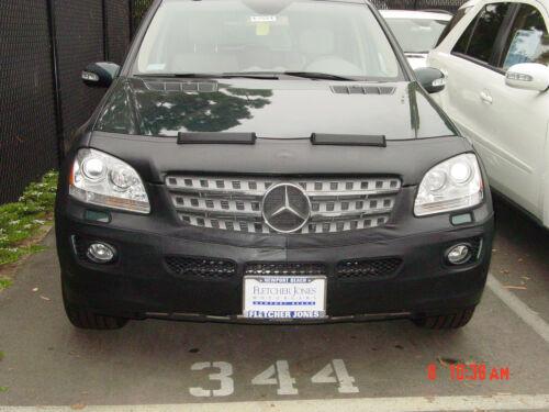 Colgan Front End Mask Bra 2pc.Fits Mercedes Benz ML350 2006-2008 W//O License