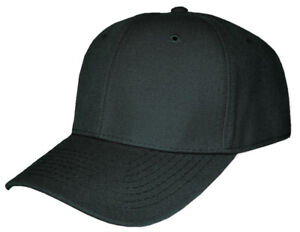 Blank-Fitted-Curved-Cap-Hat
