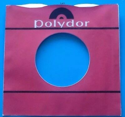 Replica Of Original Used Early Polydor Label Storage & Media Accessories Company Record Sleeve