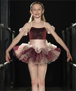 Performance Glove Sequin Dance Entertain Children Kids Fancy Dress Accessory CS
