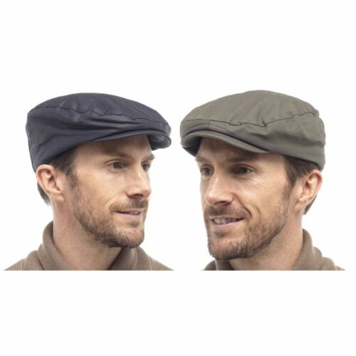 Mens Tom Franks Outdoors Fishermans 100/% Cotton Waxed Cap GL764 Navy or Green