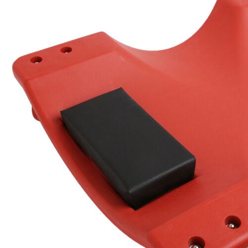"40/"" Low Profile Red Creeper Garage Plastic Rolling Auto Car Repair Mechanic Cart"