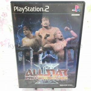 USED-PS2-PlayStation-2-All-Star-Pro-Wrestling-III-03797-JAPAN-IMPORT